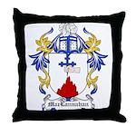 MacLannahan Coat of Arms Throw Pillow
