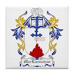 MacLannahan Coat of Arms Tile Coaster