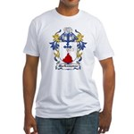 MacLannahan Coat of Arms Fitted T-Shirt