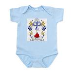 MacLannahan Coat of Arms Infant Creeper