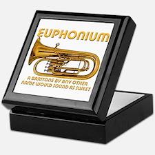 Euphonium Keepsake Box