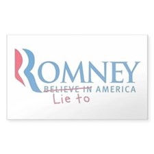 Anti-Romney Decal