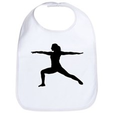 Yoga Warrior 2 Pose Bib