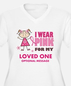 Custom Wear Pink T-Shirt