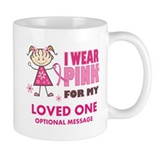 Custom Wear Pink Mug
