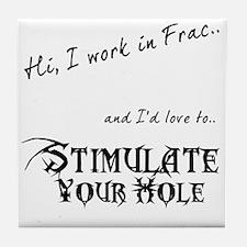 Frac Stimulation Tile Coaster