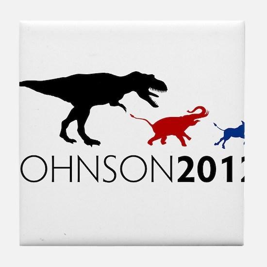 Gary Johnson 2012 Revolution Tile Coaster