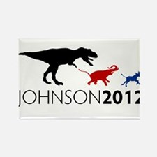 Gary Johnson 2012 Revolution Rectangle Magnet