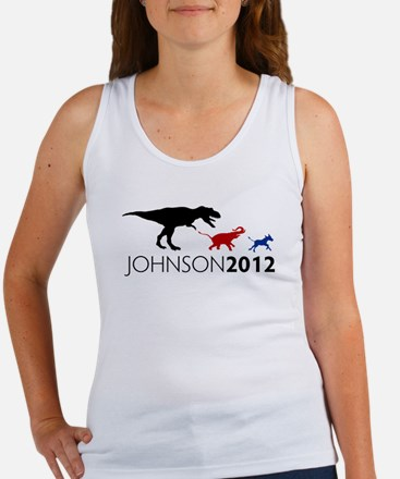 Gary Johnson 2012 Revolution Women's Tank Top