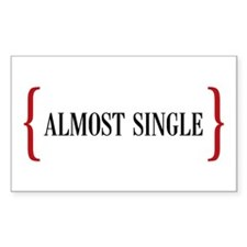 Almost Single Rectangle Decal