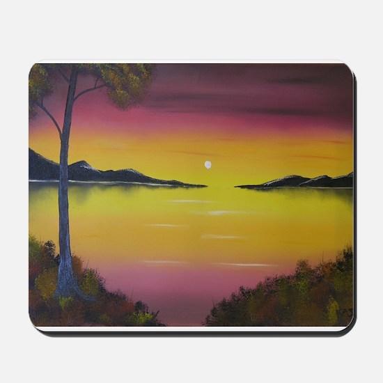 Sunset Bay Mousepad