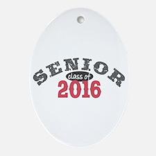 Senior Class of 2016 Ornament (Oval)