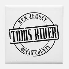 Toms River TItle Tile Coaster