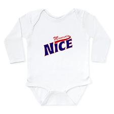 Minnesota Nice Tshirt Long Sleeve Infant Bodysuit