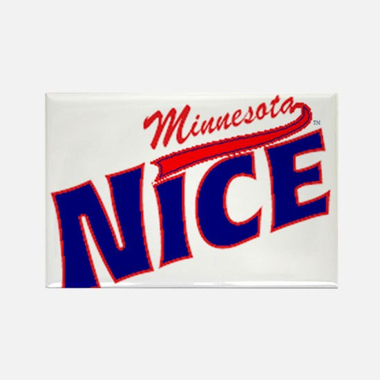 Minnesota Nice Tshirt Rectangle Magnet