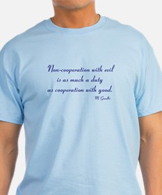 Non-cooperation with evil T-Shirt