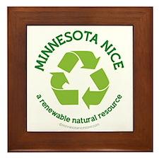 Minnesota Nice Renewable Framed Tile