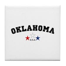 Oklahoma Tile Coaster