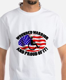 Proud Wounded Warrior Shirt