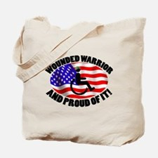 Proud Wounded Warrior Tote Bag