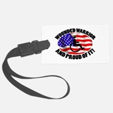 Proud Wounded Warrior Luggage Tag