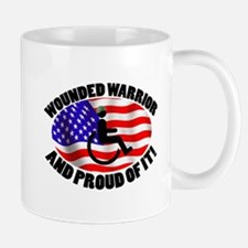Proud Wounded Warrior Mug