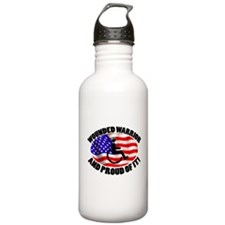 Proud Wounded Warrior Water Bottle