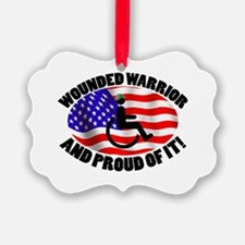 Proud Wounded Warrior Ornament