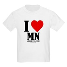 Minnesota Nice I love mn T-Shirt