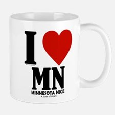 Minnesota Nice I love mn Mug