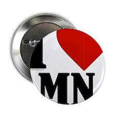 "Minnesota Nice I love mn 2.25"" Button"