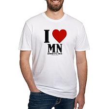 Minnesota Nice I love mn Shirt