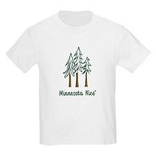 Minnesota Nice trees T-Shirt