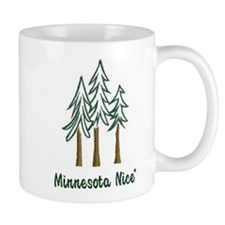Minnesota Nice trees Small Mug