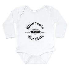 Minnesota Hot Dish Long Sleeve Infant Bodysuit