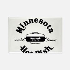 Minnesota Hot Dish Rectangle Magnet