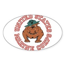 USMC Bulldog Decal