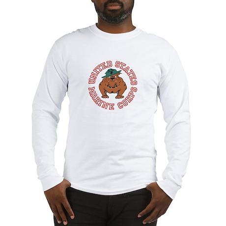 USMC Bulldog Long Sleeve T-Shirt