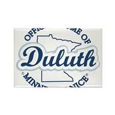 Minnesota Nice Duluth Official Home Rectangle Magn