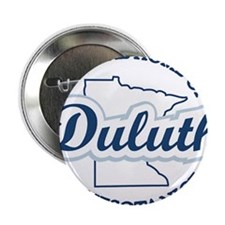 """Minnesota Nice Duluth Official Home 2.25"""" Button"""