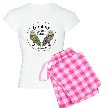 Dueling Owl Farm Logo Women's Light Pajamas