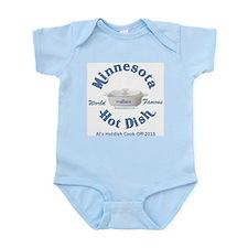 Minnesota Nice Hot Dish blue Infant Bodysuit