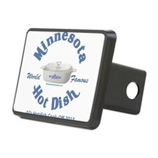 Minnesota Nice Hot Dish blue Hitch Cover