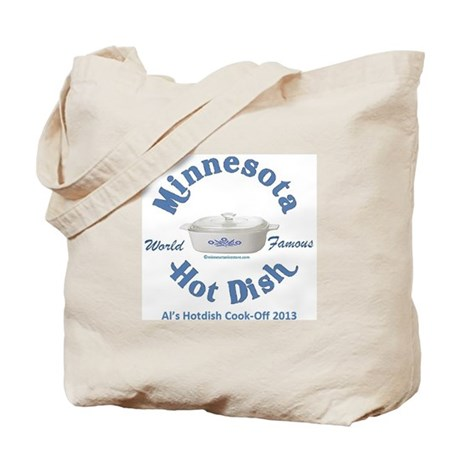 Minnesota Nice Hot Dish blue Tote Bag