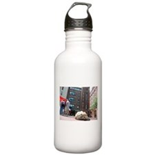 Sulcata Tortoise on the Loose Water Bottle