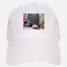 Sulcata Tortoise on the Loose Baseball Baseball Cap