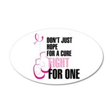 Fight for a Cure Wall Decal