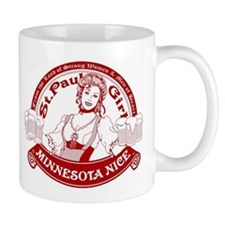 Minnesota Nice st paul girl Mug