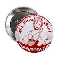 "Minnesota Nice st paul girl 2.25"" Button"