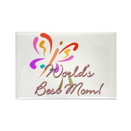 World's Best Mom! Rectangle Magnet